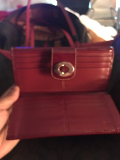 Coach Tote in Red Image 9