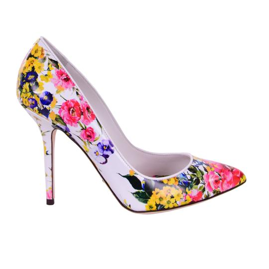 Preload https://img-static.tradesy.com/item/25123653/dolce-and-gabbana-white-pink-yellow-floral-printed-bellucci-pumps-size-eu-38-approx-us-8-regular-m-b-0-0-540-540.jpg