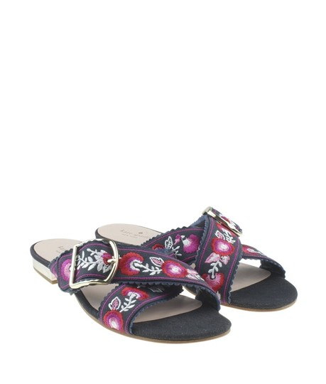 Kate Spade Denim Multi-ColorxBlue Sandals Image 1