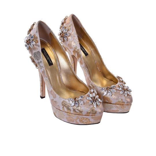 Dolce&Gabbana Gold Pumps Image 1
