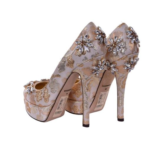 Dolce&Gabbana Gold Pumps Image 2