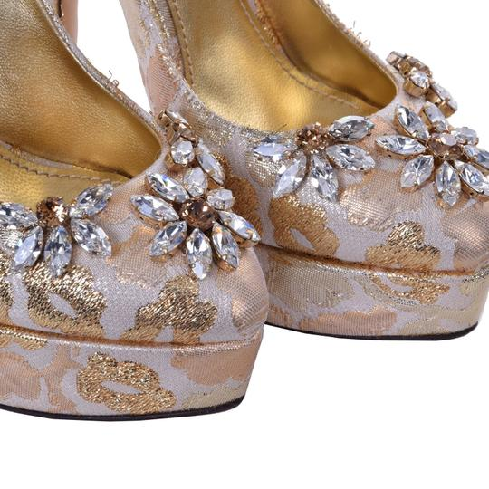 Dolce&Gabbana Gold Pumps Image 3