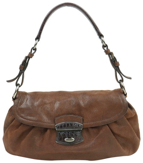 Preload https://img-static.tradesy.com/item/25123735/prada-vitello-daino-purses-brown-buttery-soft-leather-and-crocodile-embossed-accent-at-clasp-shoulde-0-1-540-540.jpg
