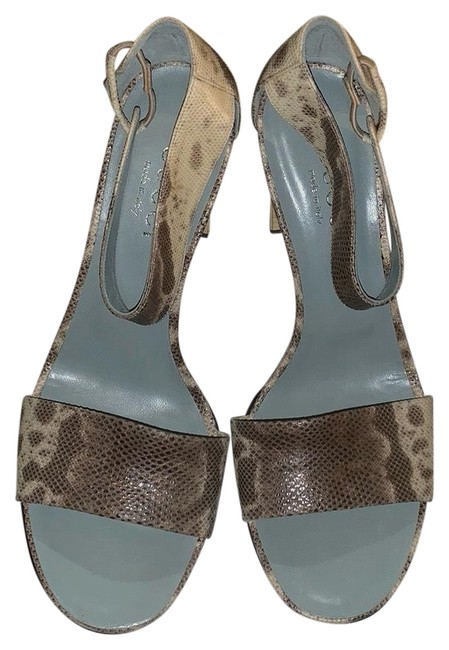 Item - Baby Blue Sandals Formal Shoes Size US 8.5 Regular (M, B)