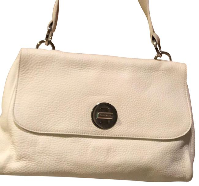 Item - Co Cream White Leather Shoulder Bag