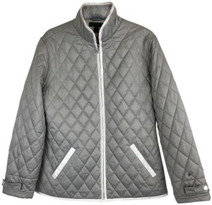 a3695f945 Tommy Hilfiger Gray Golf Saskia Quilted Jacket Size 16 (XL, Plus 0x) 50%  off retail