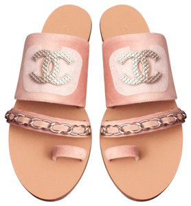 f50367c6b50e61 Chanel Sandals on Sale - Up to 70% off at Tradesy