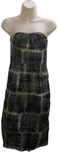Edme & Esyllte short dress Green Anthropologie Pattern Tube Vintage Fashion on Tradesy