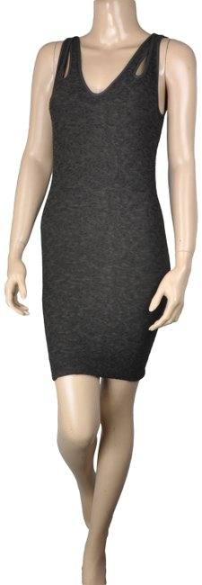 Item - Brown Bcbg Strappy Peekaboo Bodycon Short Cocktail Dress Size 4 (S)