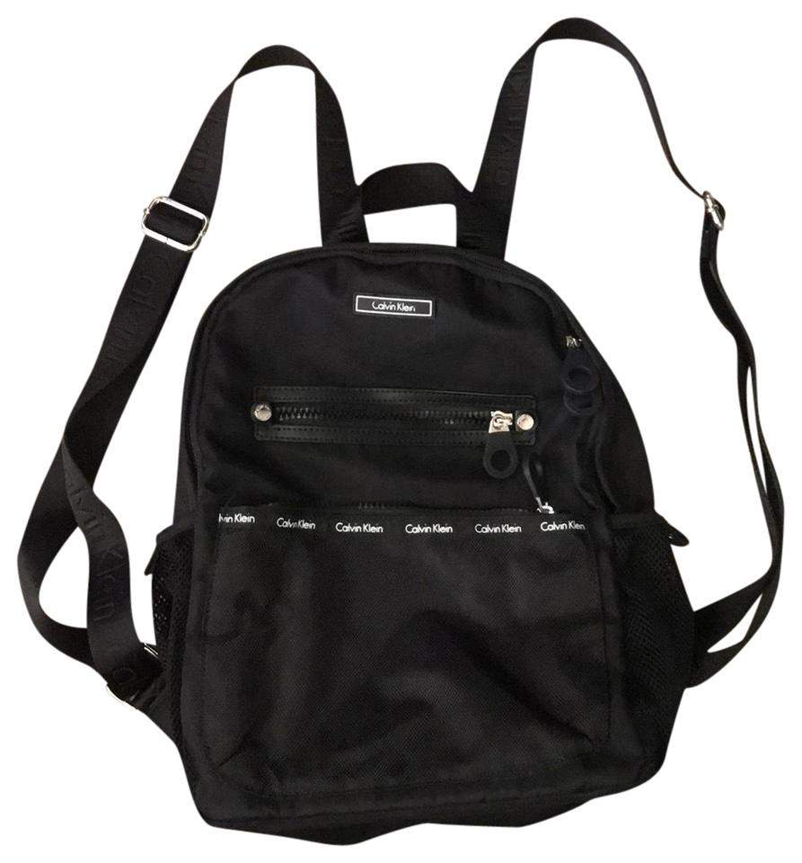 9bff9e45e Calvin Klein Mini Black Backpack - Tradesy