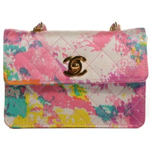 Chanel Micro Mini Teeny Tiny Rare Graffiti Shoulder Bag