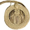 KAANAS Pineapple Straw Summer Cross Body Bag