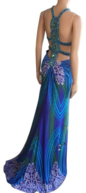 Item - Blue Prom Party Long Formal Dress Size 6 (S)