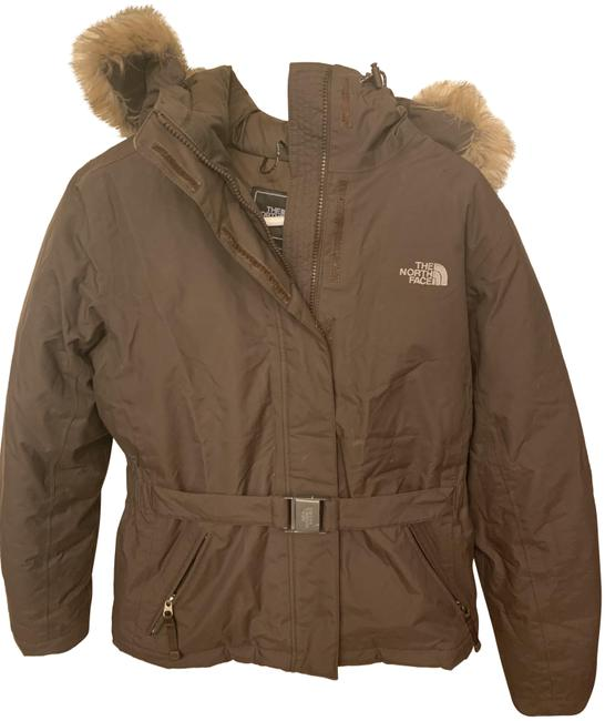 Preload https://img-static.tradesy.com/item/25127389/the-north-face-brown-down-coat-size-4-s-0-1-650-650.jpg