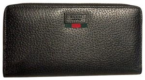 Gucci Pebbled Leather Wallet