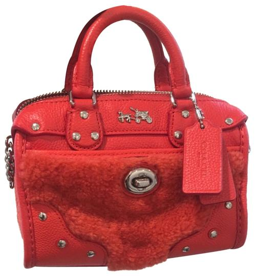 coach Satchel in red Image 0