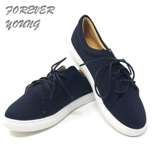 Preload https://img-static.tradesy.com/item/25127533/forever-young-black-sn-2804-women-s-laced-fabric-fashion-sneakers-size-us-7-regular-m-b-0-0-540-540.jpg