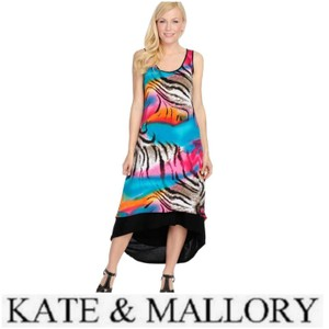 Multi color Maxi Dress by Kate & Mallory