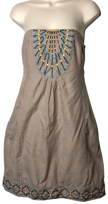 Anthropologie short dress brown on Tradesy Image 0