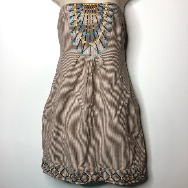 Anthropologie short dress brown on Tradesy Image 1