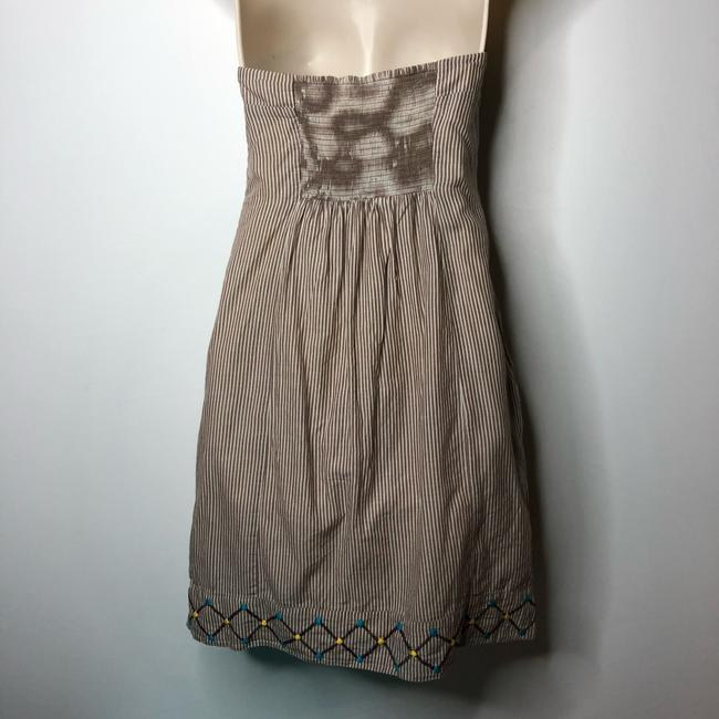 Anthropologie short dress brown on Tradesy Image 5