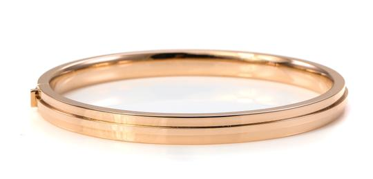 Tiffany & Co. Tiffany & Co Two Hinge Narrow Bangle Bracelet Image 5