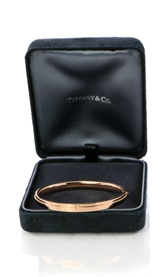 Tiffany & Co. Tiffany & Co Two Hinge Narrow Bangle Bracelet Image 7