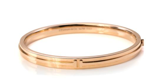 Tiffany & Co. Tiffany & Co Two Hinge Narrow Bangle Bracelet Image 8