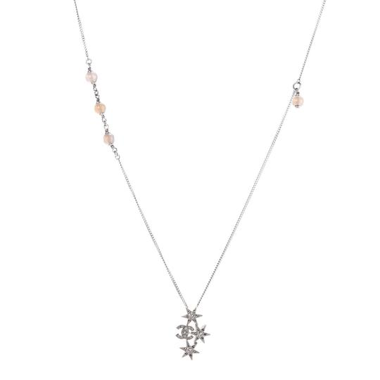 Preload https://img-static.tradesy.com/item/25127826/chanel-silver-crystal-bead-cc-star-necklace-0-0-540-540.jpg