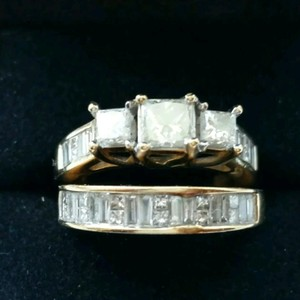 Other 14kt yellow gold bridal set