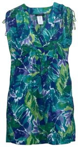 Lauren Ralph Lauren short dress Multi Pockets Sundress Coverup Shoulder Ties on Tradesy