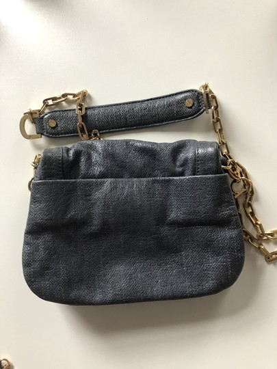 Tory Burch Pebbled Chain Strap Leather Shoulder Bag Image 1