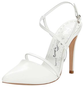 Alice + Olivia White Pumps