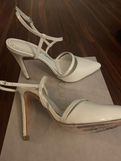 Alice + Olivia White Pumps Image 2