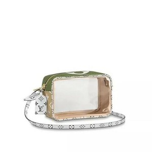Louis Vuitton See Through Translucent Camera Clear Amber Shoulder Bag