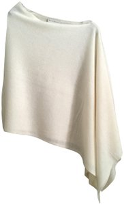 White + Warren Cashmere Poncho Cape Scarf Sweater