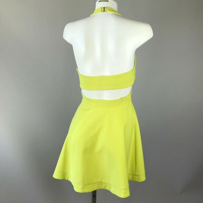 Elizabeth and James short dress Yellow Halter on Tradesy Image 1
