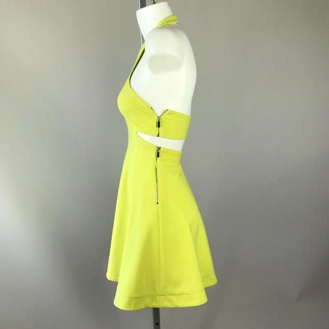 Elizabeth and James short dress Yellow Halter on Tradesy Image 2