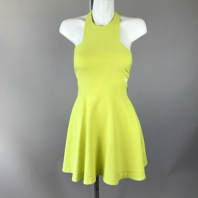 Elizabeth and James short dress Yellow Halter on Tradesy Image 3