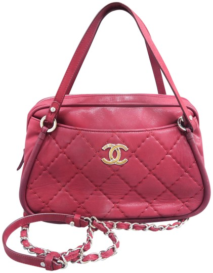 Preload https://img-static.tradesy.com/item/25128536/chanel-quilted-purplish-red-calfskin-leather-satchel-0-1-540-540.jpg