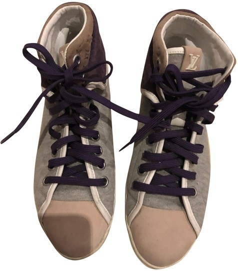 Preload https://img-static.tradesy.com/item/25128559/louis-vuitton-multicolor-sneakers-with-purple-lv-bootsbooties-size-eu-36-approx-us-6-regular-m-b-0-1-540-540.jpg