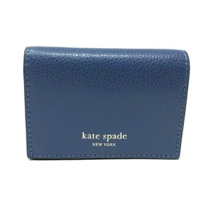 Kate Spade Kate Spade Eva Accordion Blue Dawn Card Case Small Wallet