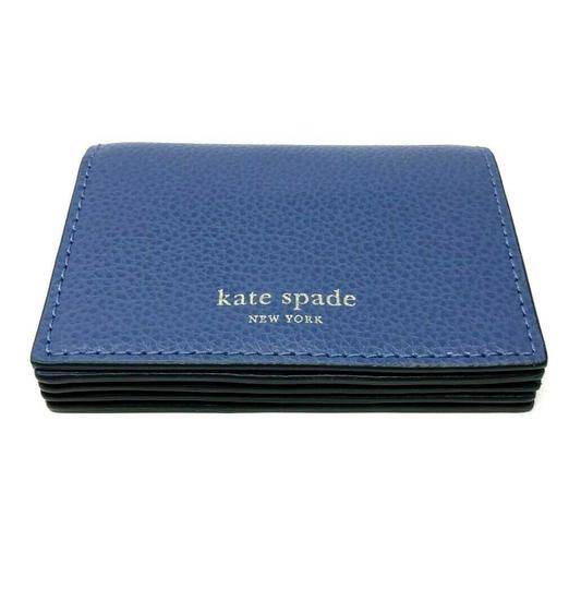 Kate Spade Kate Spade Eva Accordion Blue Dawn Card Case Small Wallet Image 3
