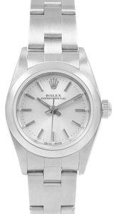 Rolex Rolex Oyster Perpetual 24 Nondate Silver Dial Ladies Watch 76080
