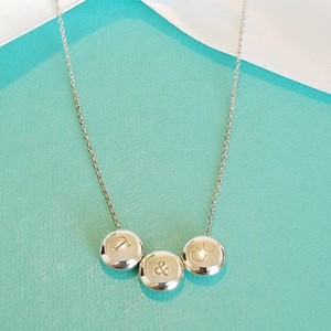 Tiffany & Co. Rare triple dots T&Co necklace