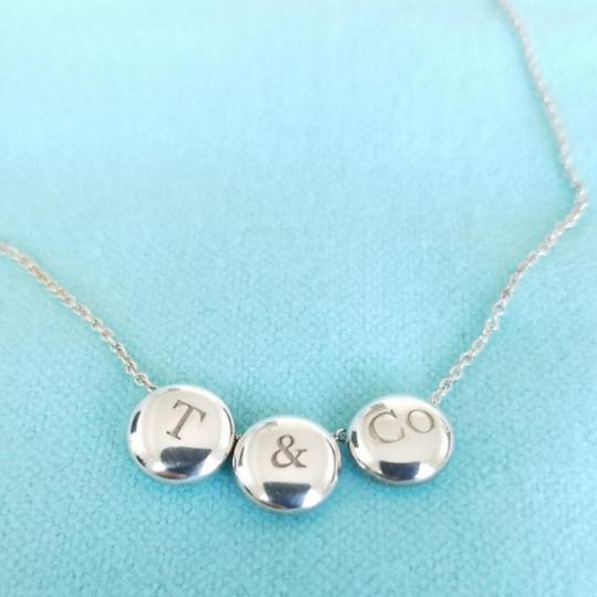 Tiffany & Co. Rare triple dots T&Co necklace Image 1