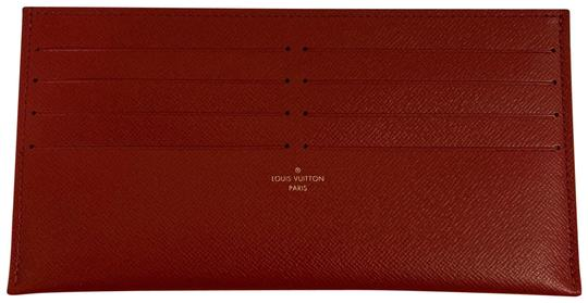 09ddff16965d Louis Vuitton Red Felicie Card Holder Insert Wallet - Tradesy