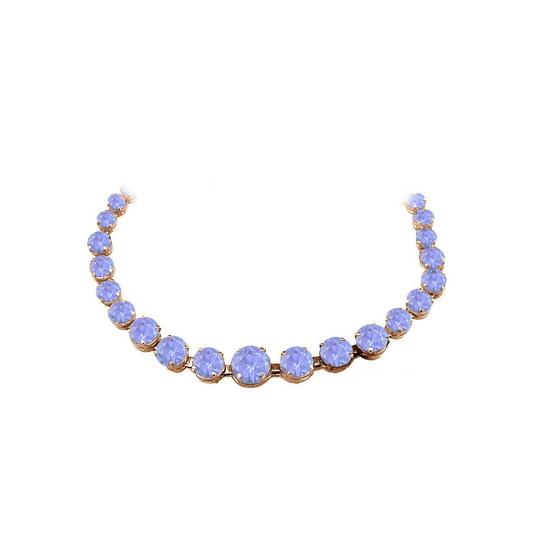 Marco B Tanzanite Graduated Necklace in 14K Rose Gold Vermeil Image 0