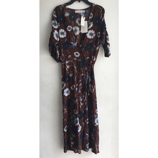 Faithfull the Brand short dress Brown Floral on Tradesy Image 4
