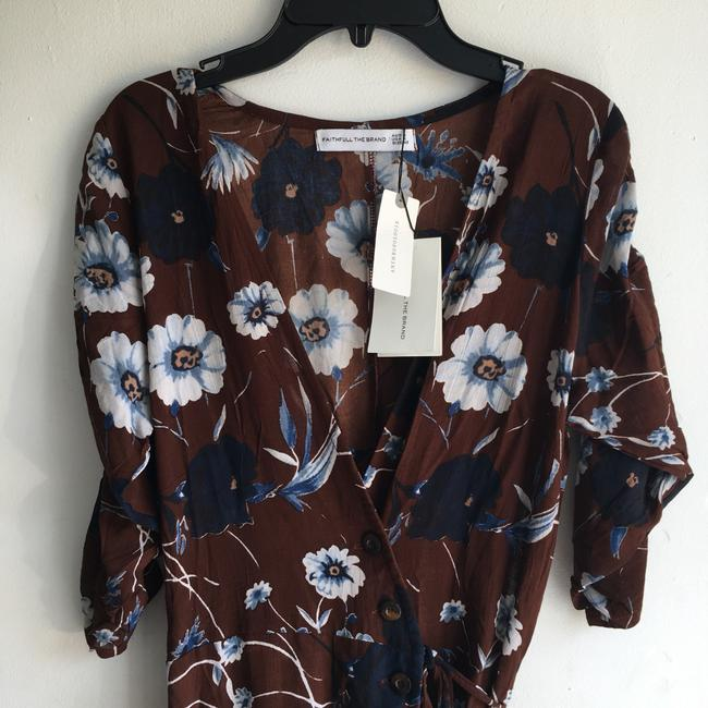 Faithfull the Brand short dress Brown Floral on Tradesy Image 7